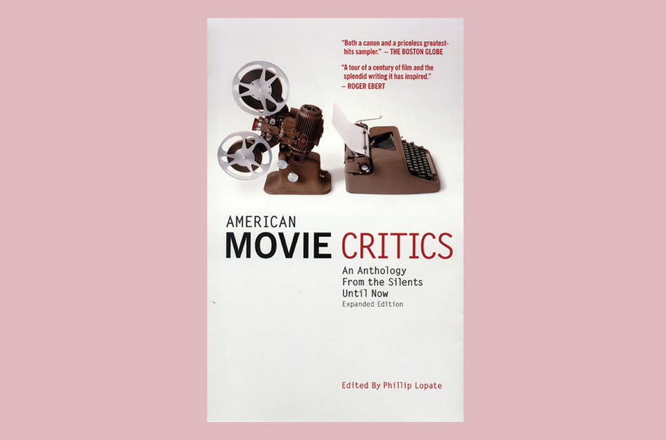 Cover of American Movie Critics: An Anthology from the Silents Until Now, edited by Phillip Lopate