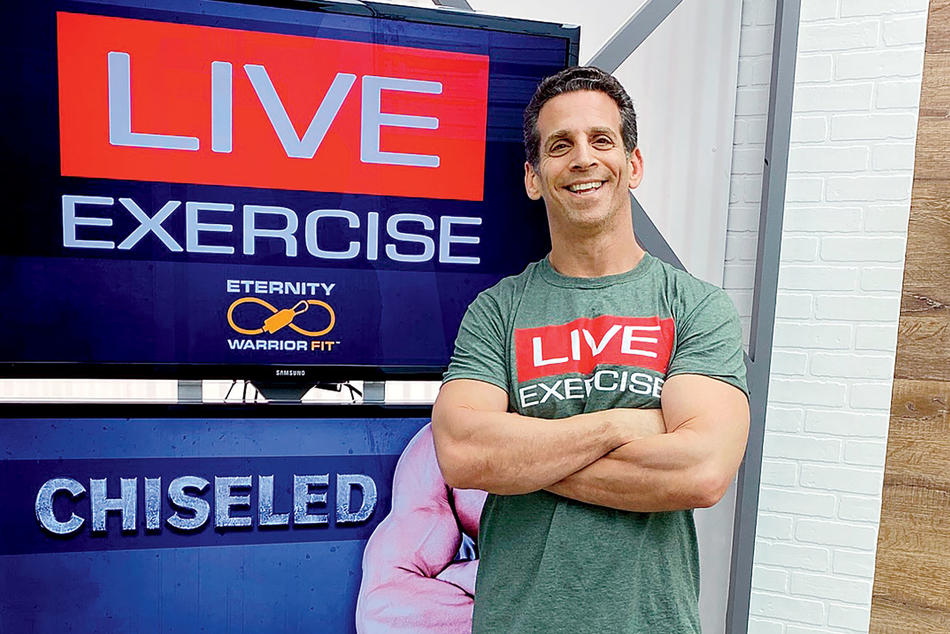 Blake Kassel, founder and CEO of LIVEexercise and Bodylastics