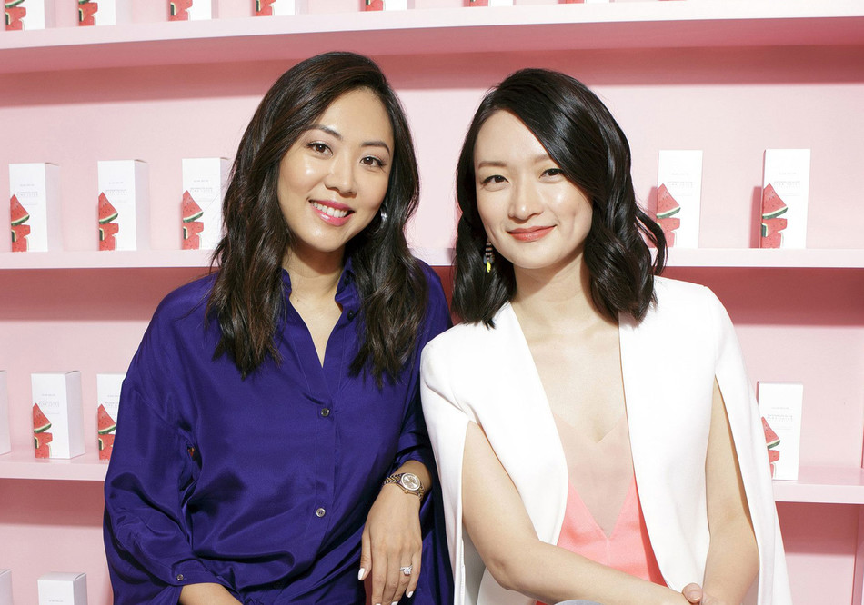 Sarah Lee and Christine Chang, co-founders of Glow Recipe